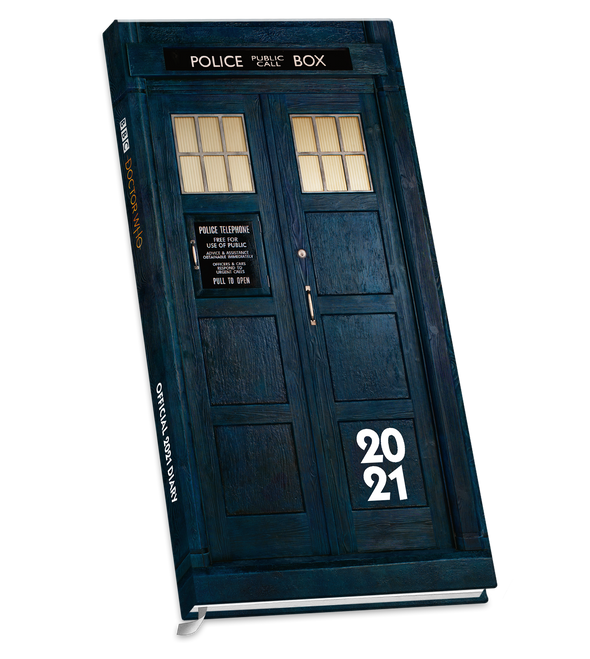 Doctor Who Slim Pocket Diary FREE + Shipping