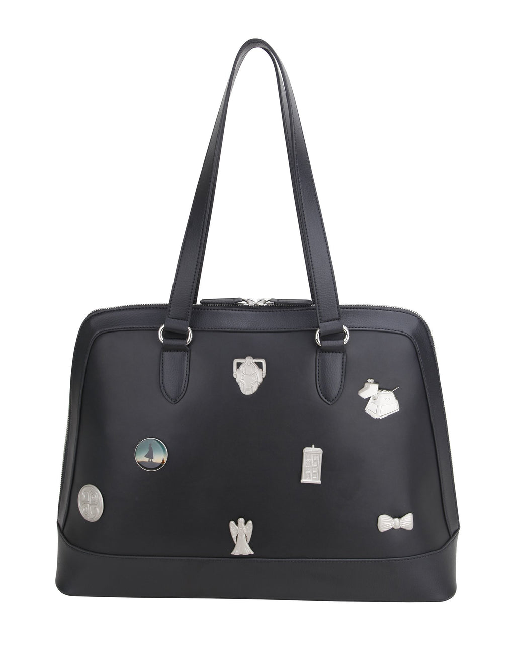 Doctor Who Customisable Shoulder Bag With Pins