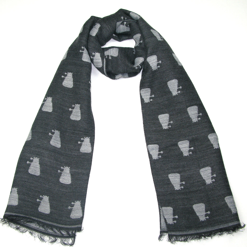 Doctor Who Grey Dalek Scarf