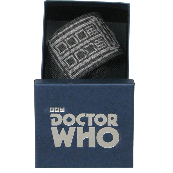 Doctor Who Ties for Men - Dr Who Tie Gifts