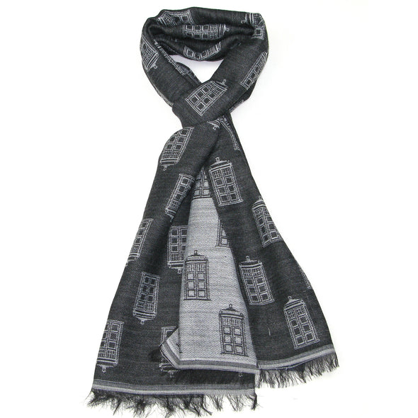 TARDIS Scarf - Buy Official BBC Doctor Who Merchandise - Gift for fans