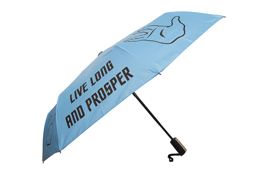 Live Long and Prosper (Spock) Folding Umbrella - Star Trek Official Merchandise