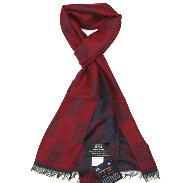 Christmas Doctor Who TARDIS Scarf Gifts for Women - Dr Who