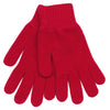 Red cashmere gloves for ladies