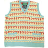 Doctor Who Seventh Doctor Jumper - 7th Doctor (Sylvester McCoy) Question Mark Tank Top Sweater