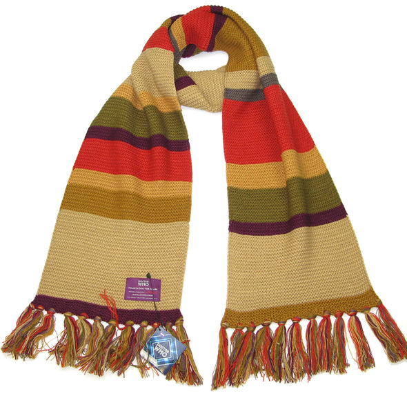 4th doctor scarf - Dr Who scarfs BBC Tom Baker Short Scarf