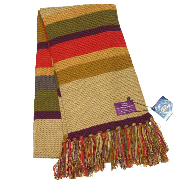 mens scarf doctor who tom baker dr who scarfs