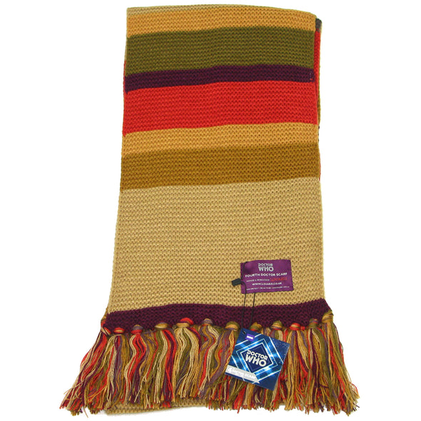 dr who 4th doctor scarf fourth doctor tom baker shorter scarfs