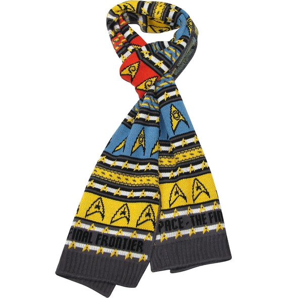 Star Trek Insignia Scarf Original Series - Official Merchandise