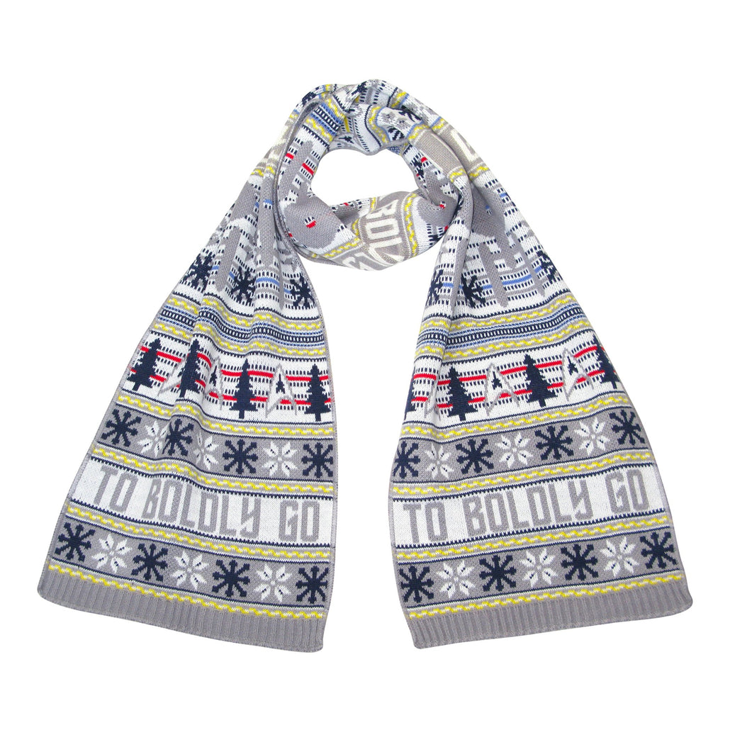 Star Trek: The Original Series Christmas Scarf -