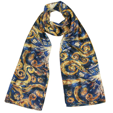 The Pandorica Opens (TARDIS Exploding) Doctor Who Scarf - Official BBC Eleventh Doctor Scarf