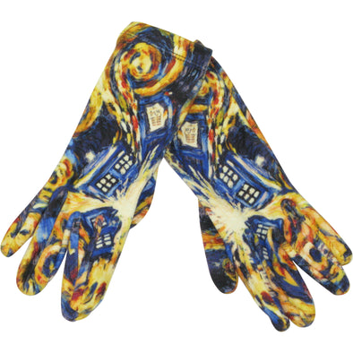 Doctor Who Gloves - Dr Who Gifts for Female Fans