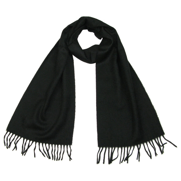 cashmere scarf black for men
