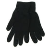 cashmere gloves women black