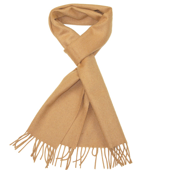 Cashmere Scarf Brown for Men
