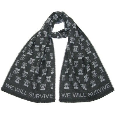 Cybermen New Doctor Who Scarf BBC Merchandise Best Gifts for Fans