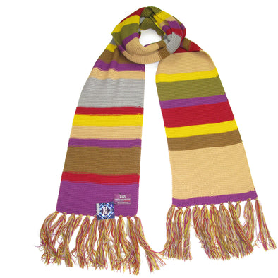 Doctor Who Scarf Fourth Dr - Tom Baker Season 12 Scarfs - 12 Foot Long