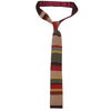 Doctor Who Tie Knitted - Ties for Men - Merchandise Gifts
