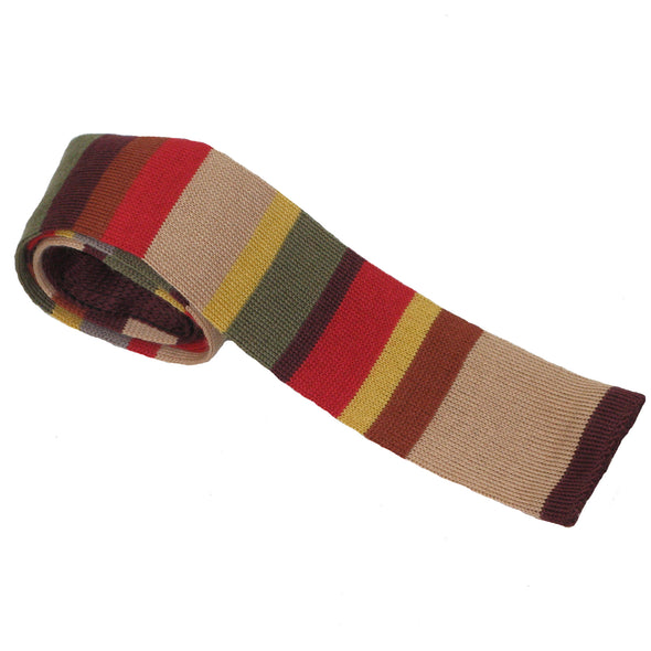 Tom Baker Doctor Who Tie Knitted - Ties for Men - Merchandise Gifts Scarf