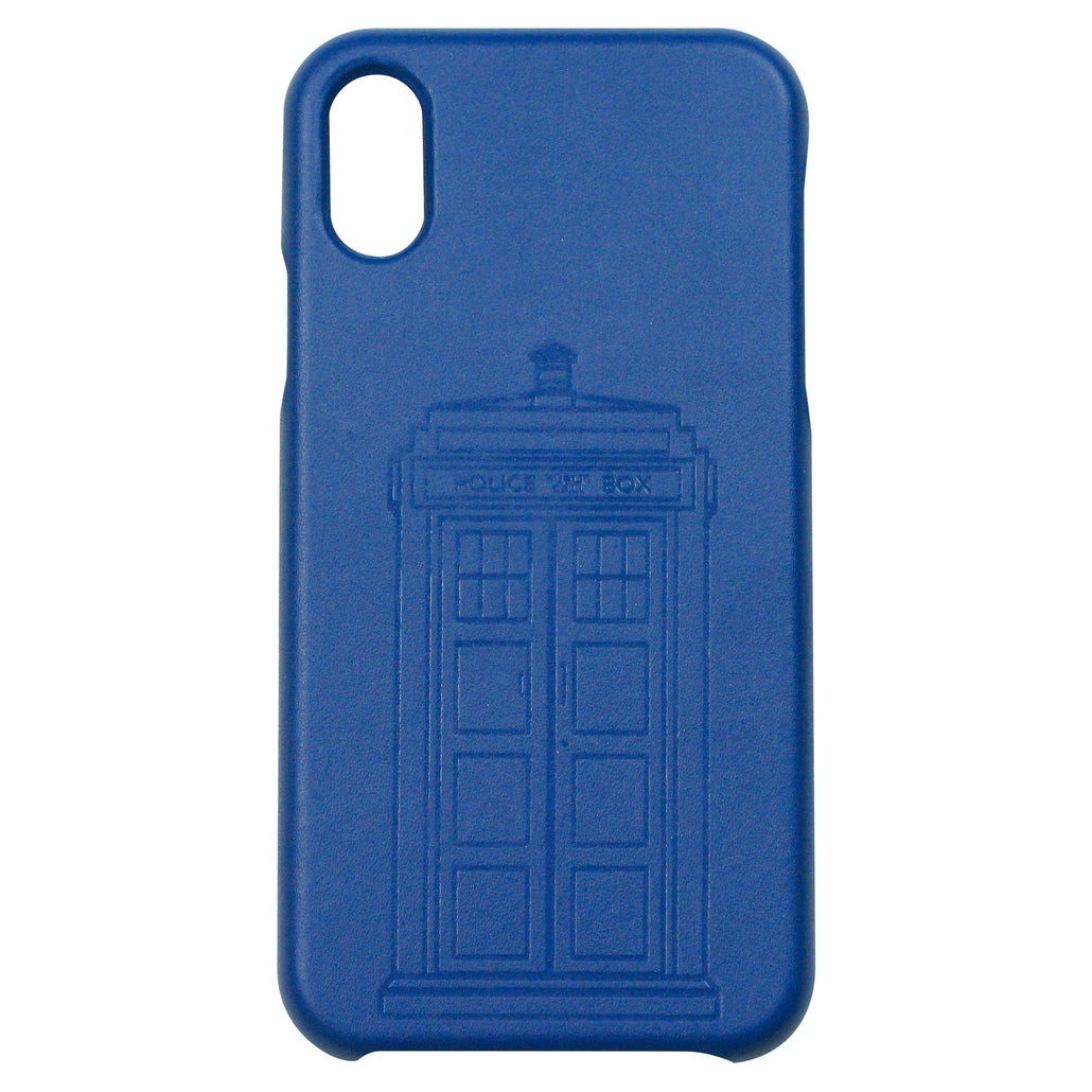 TARDIS Genuine Leather Phone Case - Official BBC Doctor Who Phone Case