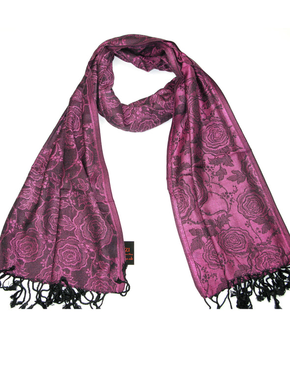 Rose Design Scarf