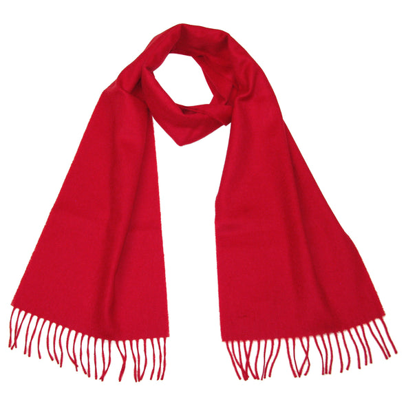 Women's Cashmere Scarf Red - Ladies