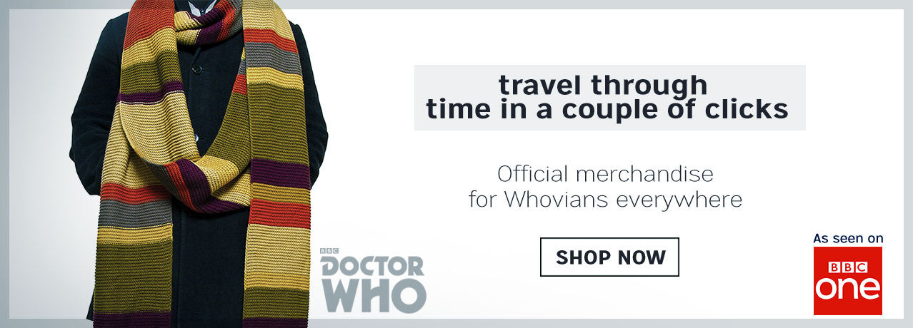 Official Doctor Who Merchandise