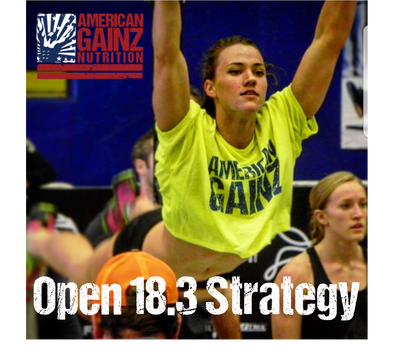 Crossfit Open 18.3 Strategy