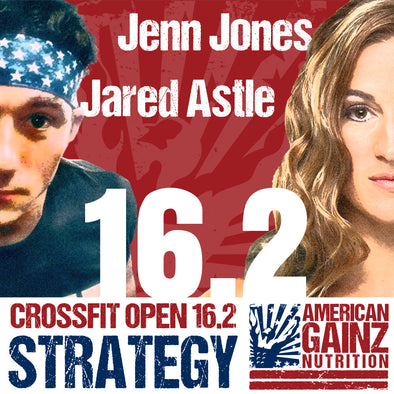 Crossfit Open 16.2 Strategy - Written by Jenn Jones and Jared Astle