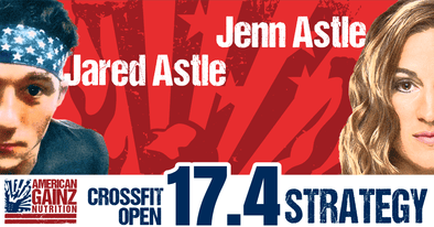 2017 Crossfit Open 17.4 Strategy - Written by Jenn & Jared Astle