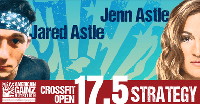 2017 Crossfit Open 17.5 Strategy - Written by Jenn & Jared Astle