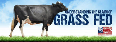 The Grass Fed Claim — Whey Protein