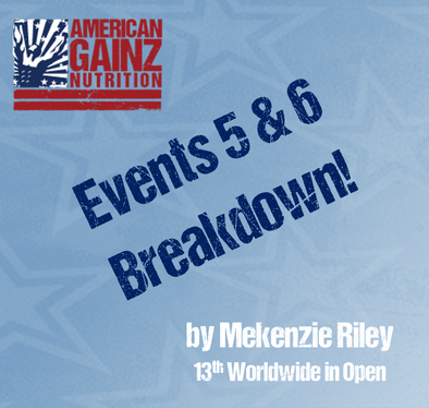 2017 Regional Breakdown Individual Events 5 & 6 - Written by Mekenzie Riley