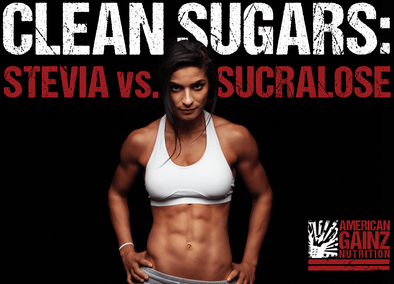 Stevia or Sucralose to Sweeten Your Whey Protein…