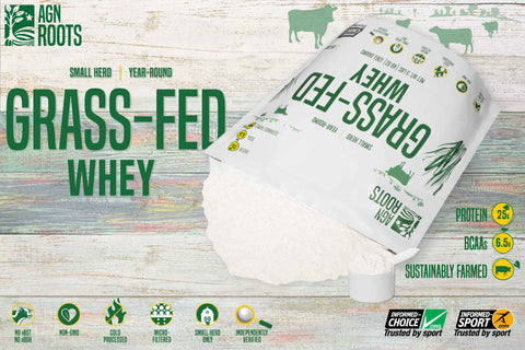 What's the best unflavored grassfed Whey?