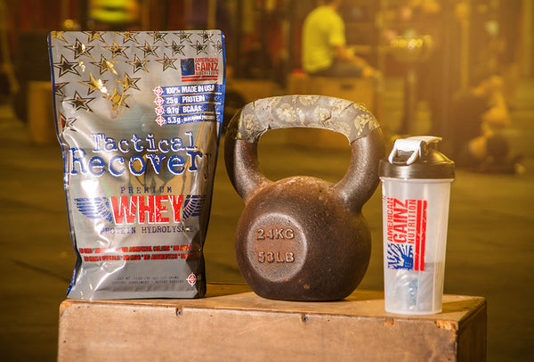 Tactical Recovery crossfit whey protein by American GAINZ Nutrition