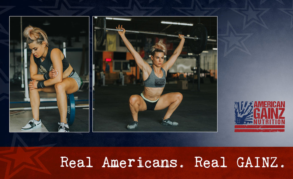 Sarah Herse - L1 Crossfit coach, competitive powerlifter for American GAINZ