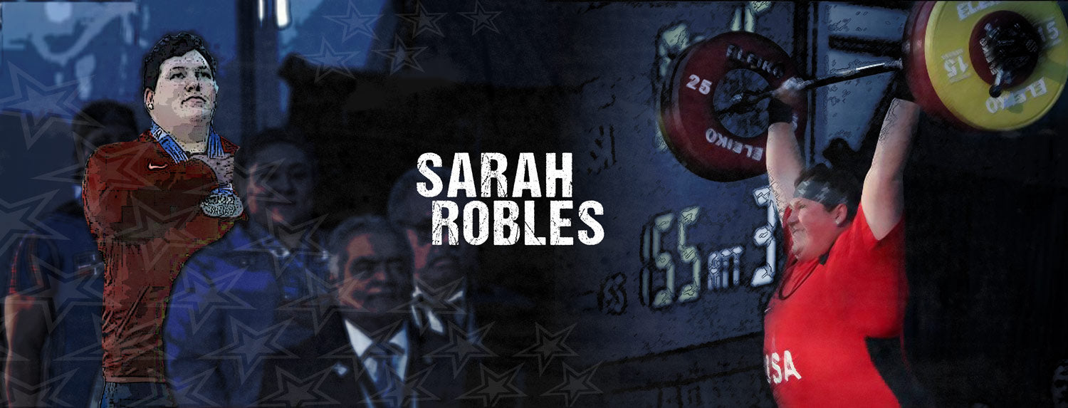 Sarah Robles, weightlifting champion