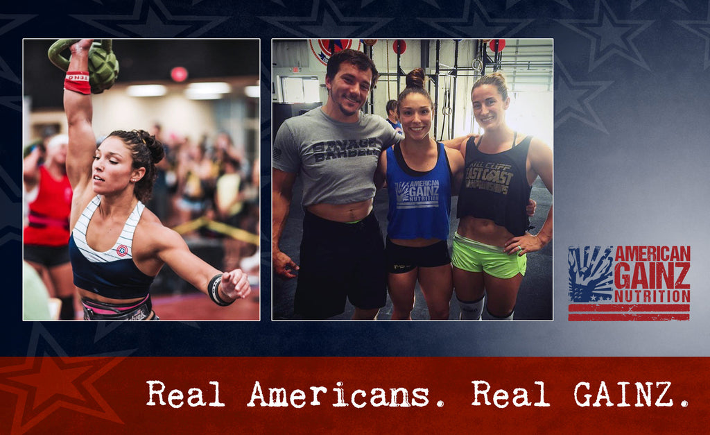 Bethany Branham, crossfit athlete for American GAINZ