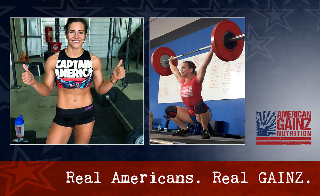 Carrie Sabo: 	CrossFit Athlete,  CrossFit Gym Owner and Head Coach,  National Qualified Olympic Weightlifter,  Certified Personal Trainer