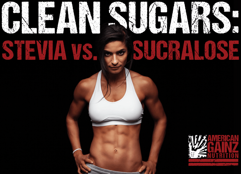 clean sugars: stevia vs sucralose in whey protein powder