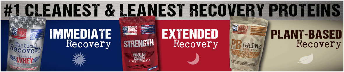 Buy Tactical Recovery Whey Protein