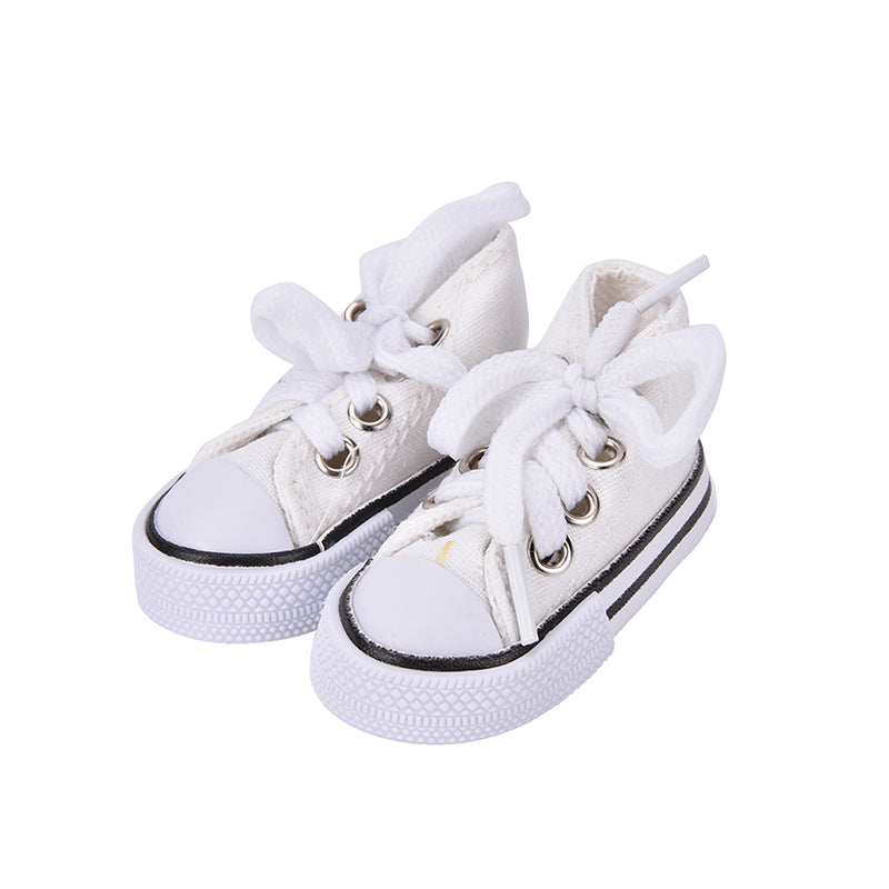 1 Pair Denim Canvas Shoes For BJD Doll Toy Mini Doll Shoes for Sharon Doll Boots Dolls Sneackers Accessories Hot Sale 7.5cm