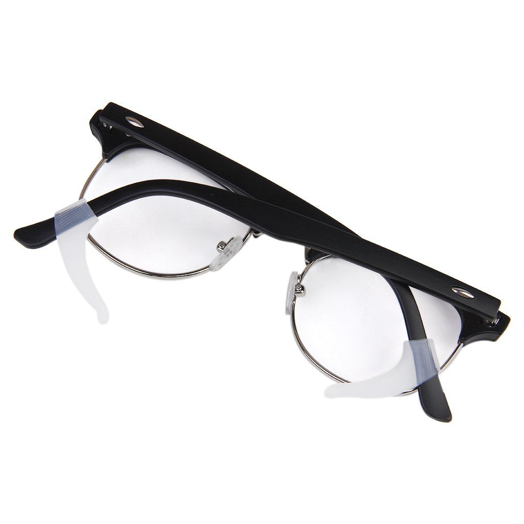 1 Pair Eyeglasses/Sunglasses/Spectacles Eyewear Ear Hook Lock Tip Holder (White)