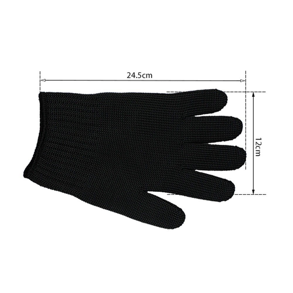 1 Pair Gloves Proof Protect Stainless Steel Wire Safety Gloves Cut Metal Mesh Butcher Anti-cutting breathable Travel Kit