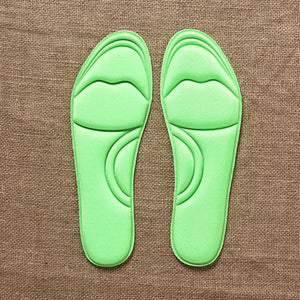 1 Pair NEW Unisex Memory Foam Custom massage Shoe Insoles Trainer Foot Care