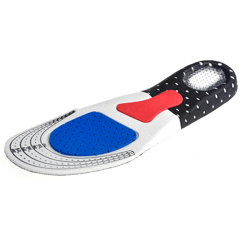 1 Pair Unisex Orthotic Arch Support Sport Shoe Pad Sport Running Gel Insoles Insert Cushion for Men Women foot care