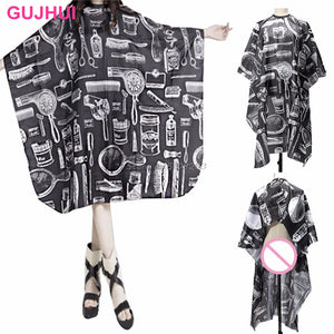 1 Piece New Adult Salon Barbers Hairdressing Hairdresser Hair Cutting Cape Gown Clothes #Y207E# Hot Sale
