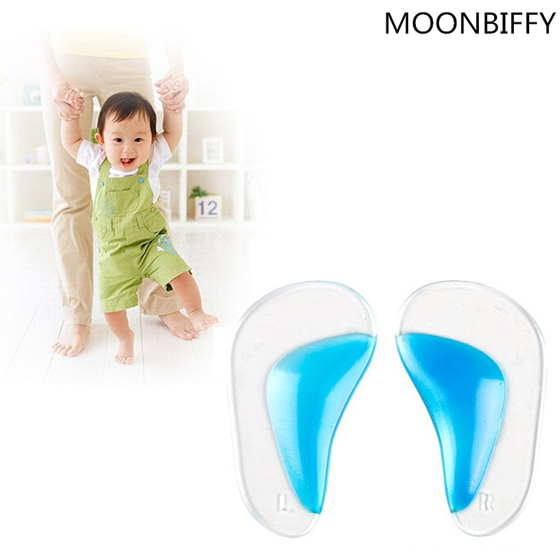 1 pair Professional Orthotic Insole Child Flatfoot Corrector Arch Pain Support Gel Inserts Pads 2016 Hot Worldwide sale