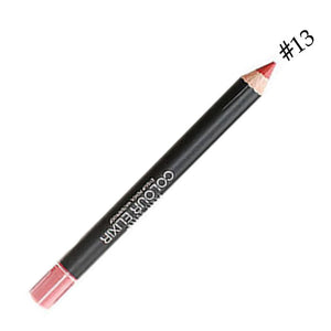 1 pcs Multicolor Party Queen Lip Liner Pencil Functional Eyebrow Eye Lip Makeup Waterproof Colorful Cosmetic Lipliner Pen